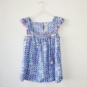 Matilda Jane Wandering Waters Embroidered Top